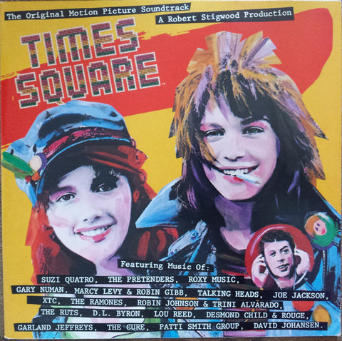 Times Square - Soundtrack (Talking Heads, The Cure, Ramones, Patti Smith, Lou Reed, etc.) 2xLP TÜRK BASKI