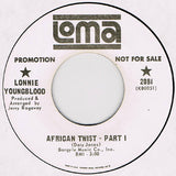 Lonnie Youngblood ‎– African Twist / Part 2 - 45lik 1967 PROMO COPY !!!