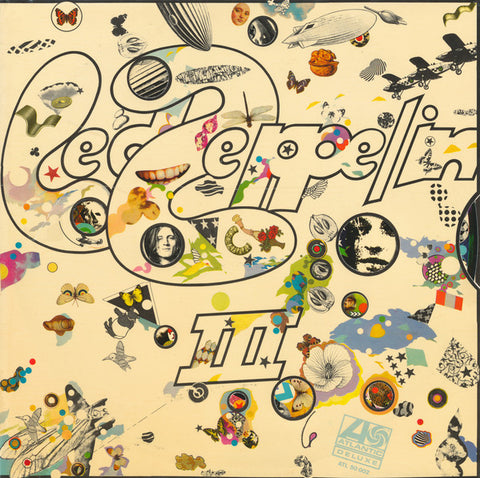 LED ZEPPELIN - LED ZEPPELIN III - 70'S REISSUE LP