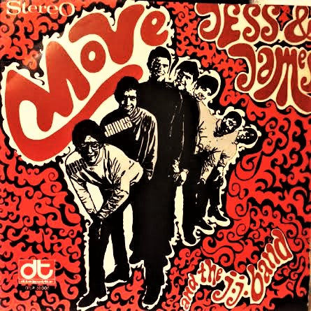 Jess & James - Move - LP 1968 Türk Baskı Diskotür