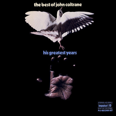John Coltrane ‎– The Best Of John Coltrane - His Greatest Years - 2x LP 1970