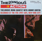 Thelonious Monk Quartet With Johnny Griffin ‎– Thelonious In Action - LP Reissue