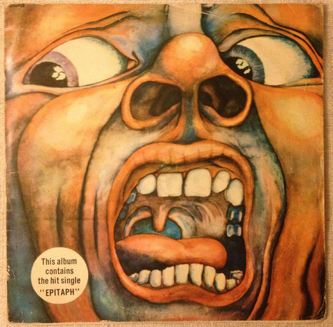 King Crimson ‎– In The Court Of The Crimson King (An Observation By King Crimson) / LP 1976 Türkiye Baskı