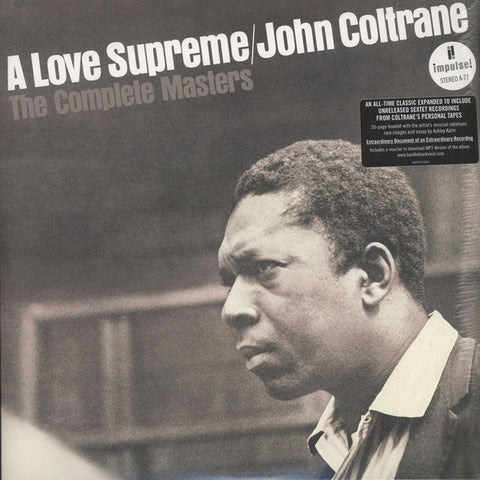 John Coltrane ‎– A Love Supreme: The Complete Masters - 3 x LP + Booklet 2015 Remastered