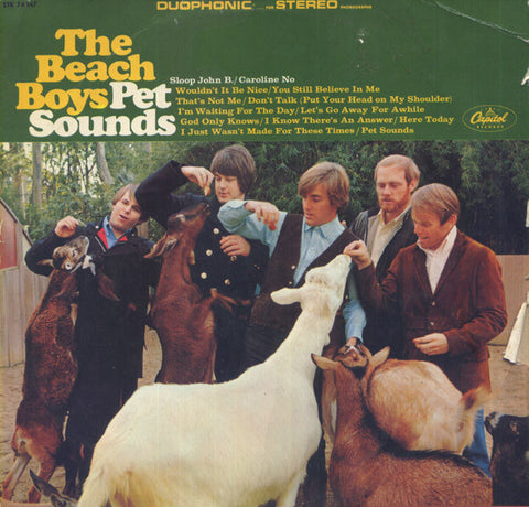 Beach Boys - Pet Sounds - LP - 1966 Germany
