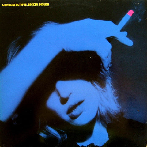 Marianne Faithfull ‎– Broken English - LP 1979