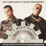 C&C Music Factory Featuring Q-Unique & Deborah Cooper ‎– Keep It Comin'- Buffy TVS Soundtrack - 12""