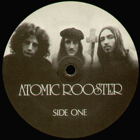 Atomic Rooster - Death Walks Behind You - LP - 1970 - 1st Press !