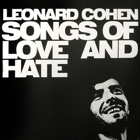 Leonard Cohen ‎– Songs Of Love And Hate - LP 2016 Reissue