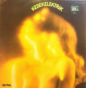 Kebekelektrik ‎– Kebekelektrik - LP 1977 TURKISH PRESS