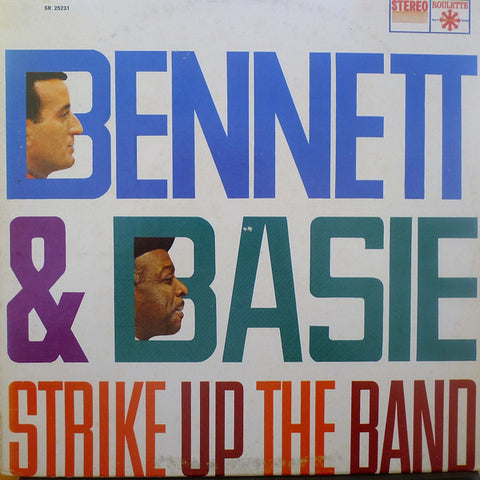 Tony Bennett & Count Basie ‎– Strike Up The Band - LP 1959