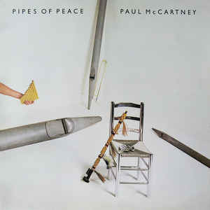 Paul McCartney ‎– Pipes Of Peace - LP 1983 TURKISH PRESS !!!