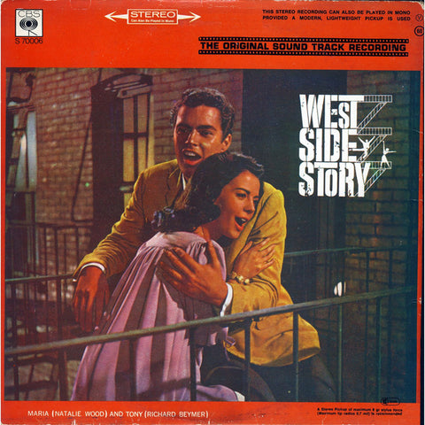 Leonard Bernstein ‎– West Side Story - LP 70's
