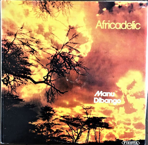 MANU DIBANGO - AFRICADELIC - TURKISH PRESS! LP 1975