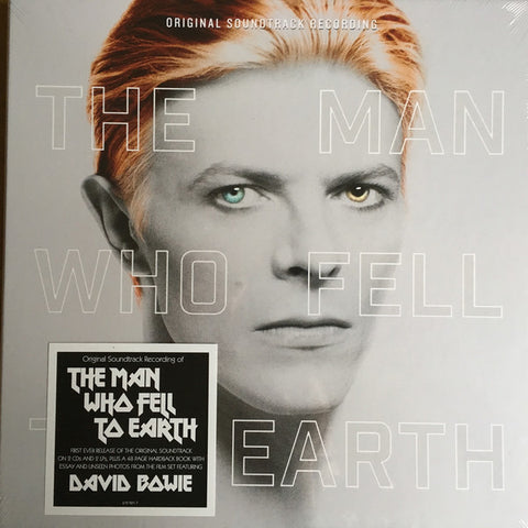 David Bowie -The Man Who Fell to Earth - Double LP + 2 CD'S + 48 pages Booklet Boxset