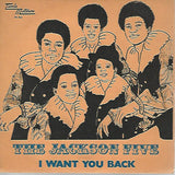 The Jackson 5 ‎– I Want You Back / The Young Folks - 45lik 1970
