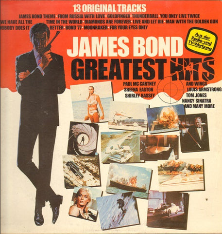 James Bond - Soundtrack Greatest Hits - LP