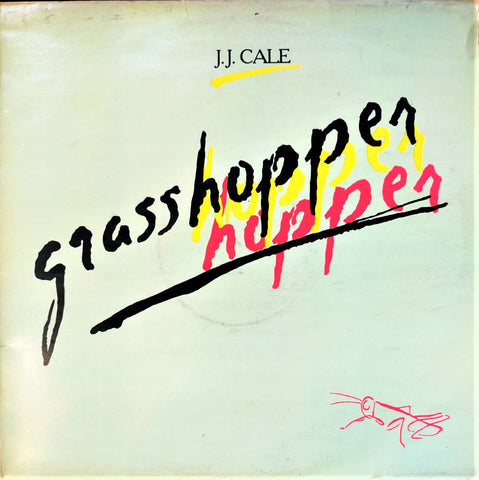 J.J. CALE - GRASSHOPPER - 80'S TURKISH PRESS LP