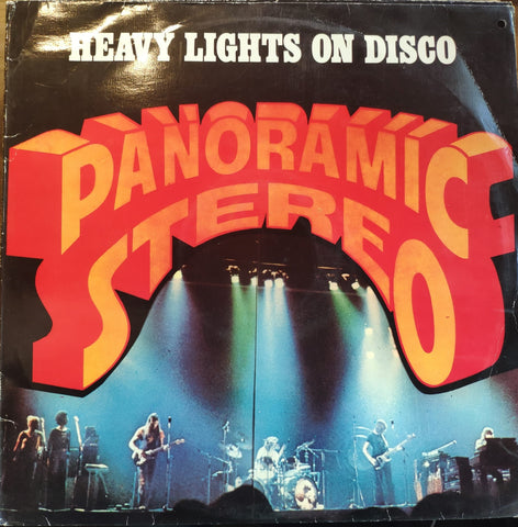 Various ‎– Panoramic Stereo - Heavy Lights On Disco (Funk & Soul Compilation) - LP 1978 TURKISH PRESS