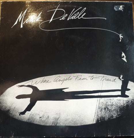 Mink DeVille ‎– Where Angels Fear To Tread - LP 1983