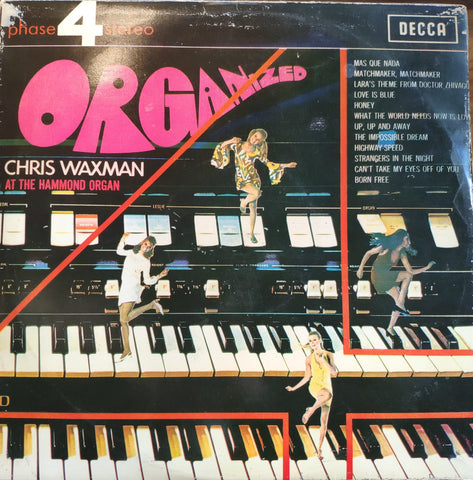 Chris Waxman ‎– Organized - LP 1968