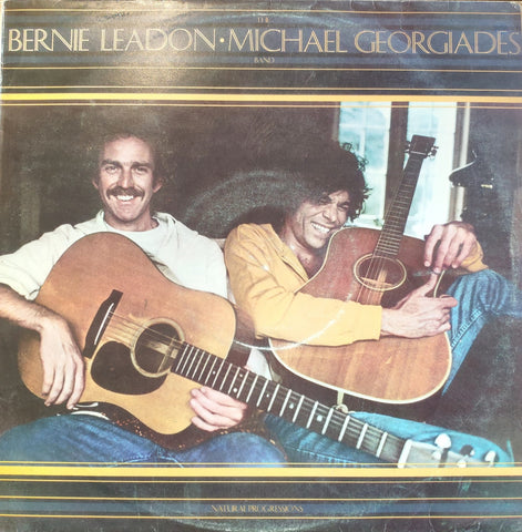 The Bernie Leadon - Michael Georgiades Band ‎– Natural Progressions - LP 1977 TURKISH PRESS