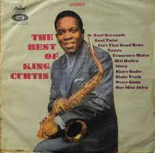 King Curtis ‎– The Best Of King Curtis - LP 1967 TURKISH PRESS !