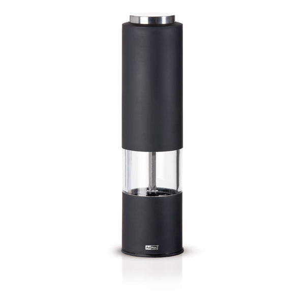 Electric Peper or Salt Mill in Black