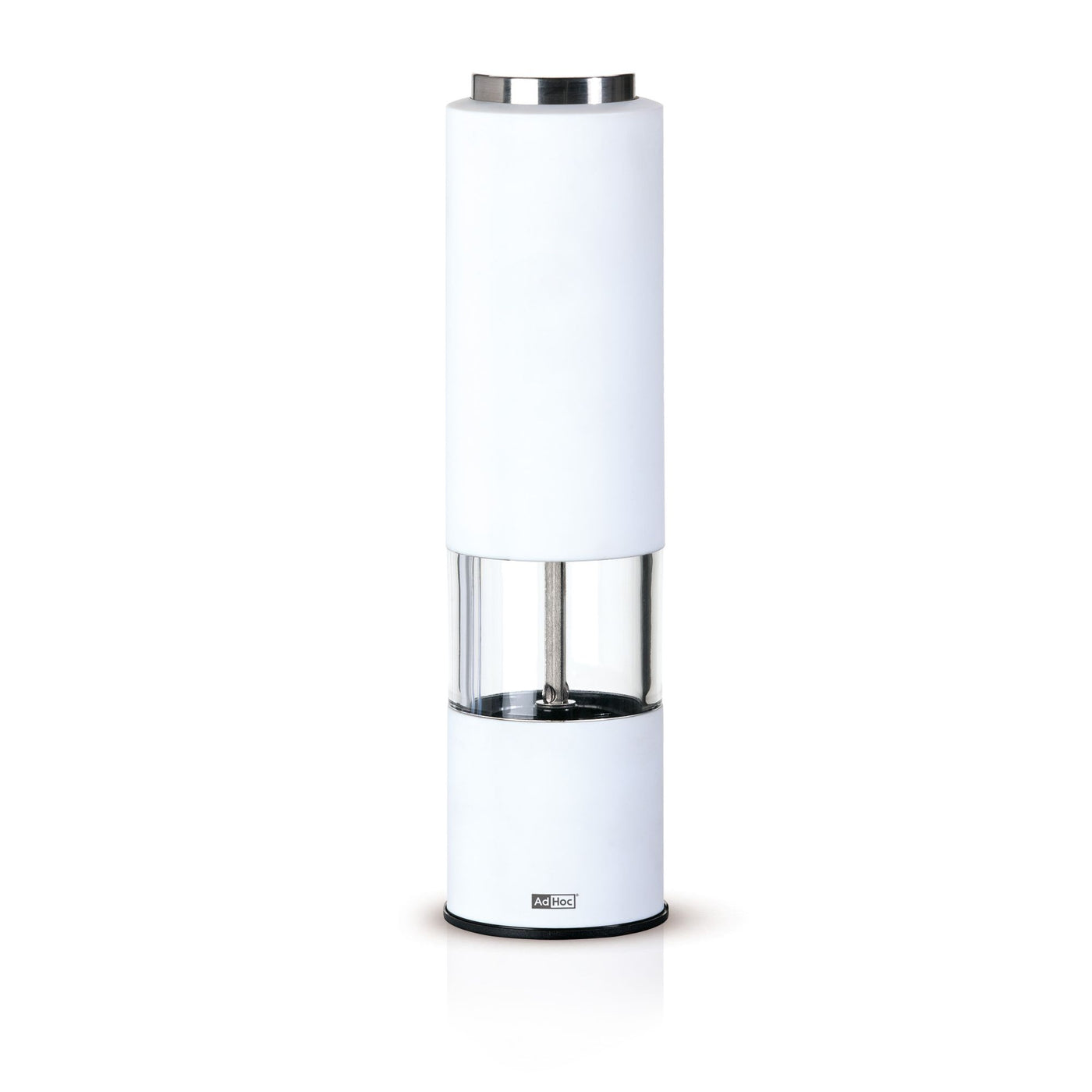Electric Peper or Salt Mill in White