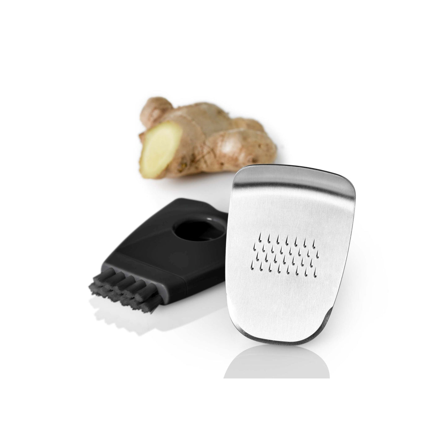 Ginger + Special Grater in Stainless Steel