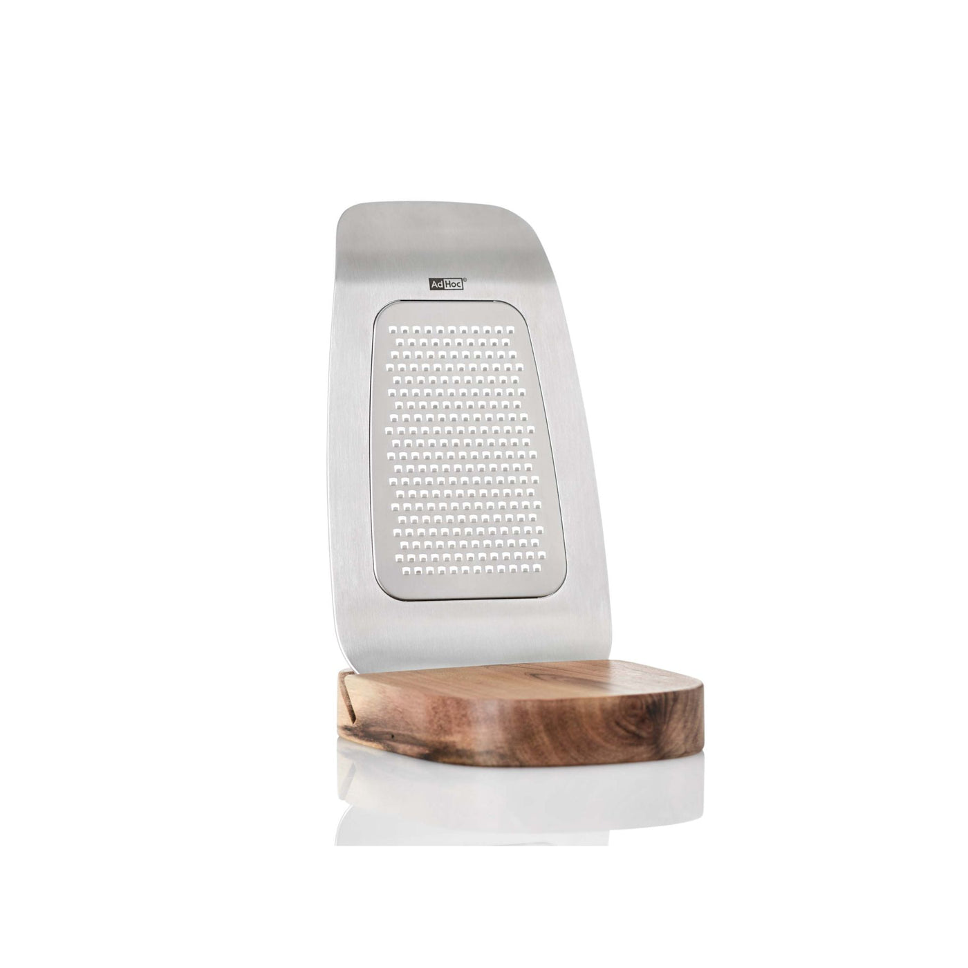 Fine Grater w/Stand in Stainless Steel
