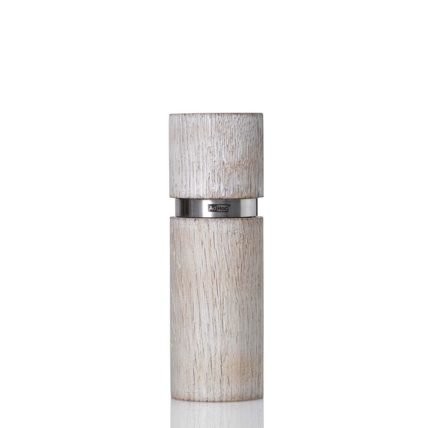 Small Pepper or Salt Mill in White