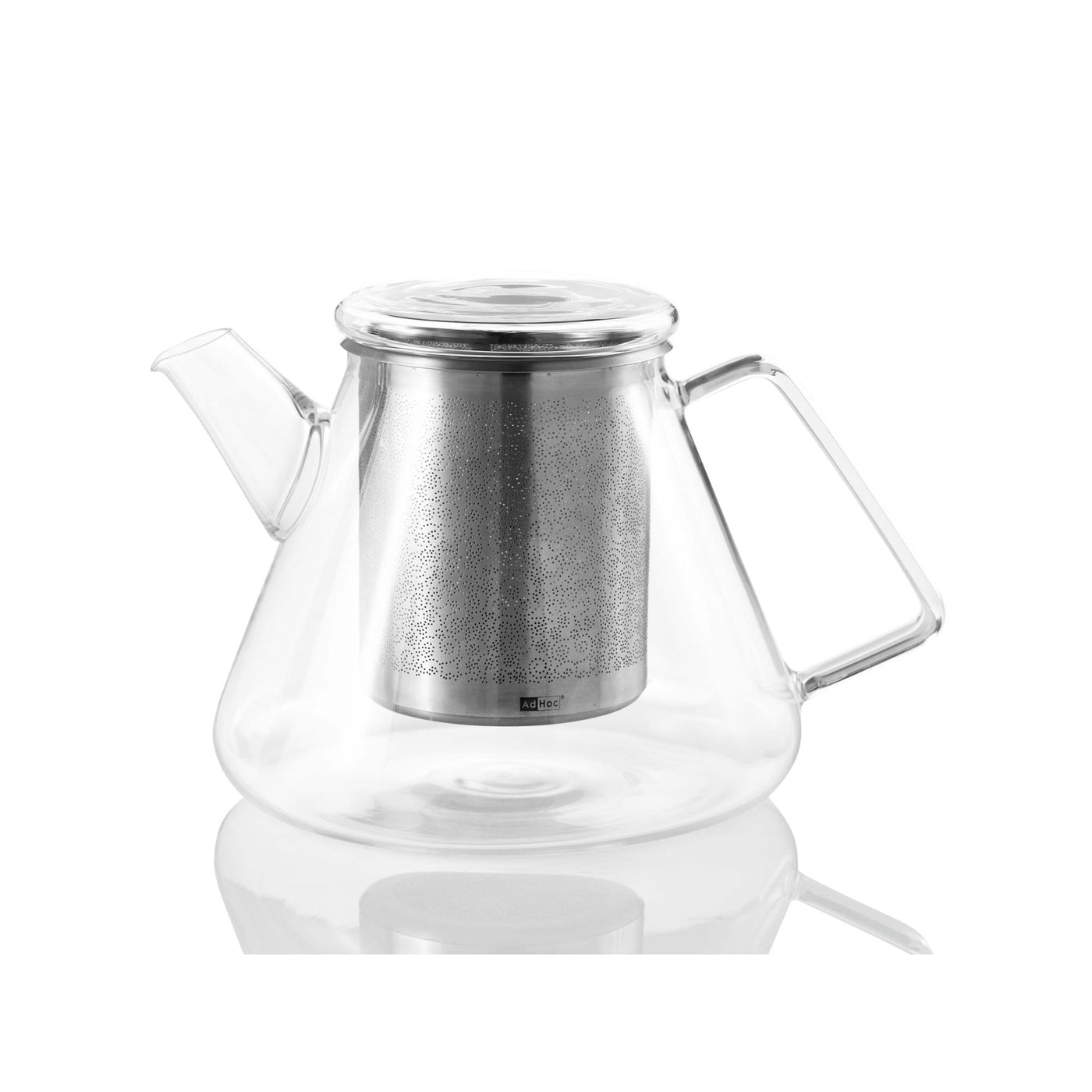 Orient Teapot 1.5L in Glass + Stainless Steel
