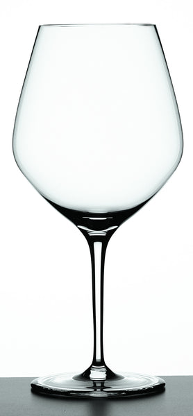 Authentis Burgundy Wine Glasses, Set of 4