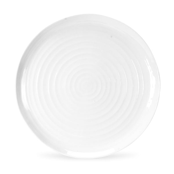 White Collection Round Platter