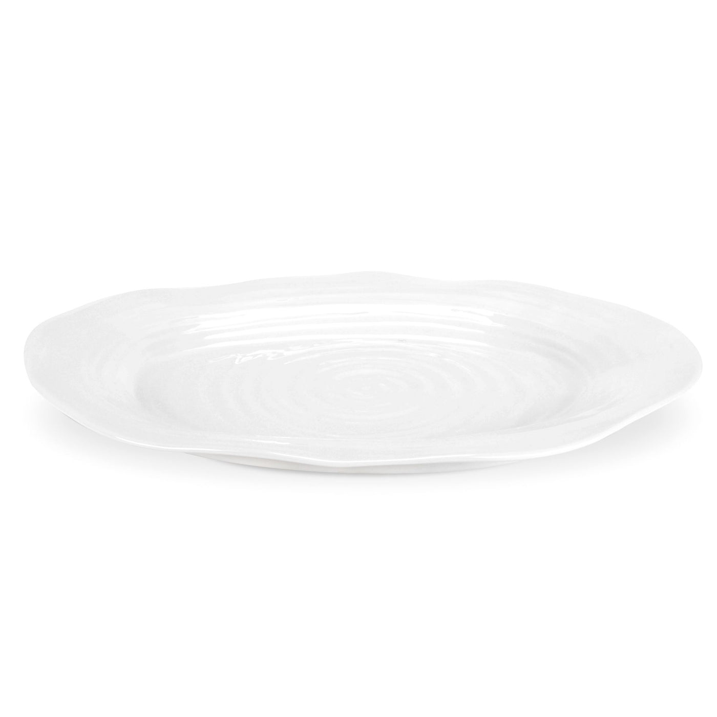 White Collection Large Oval Platter