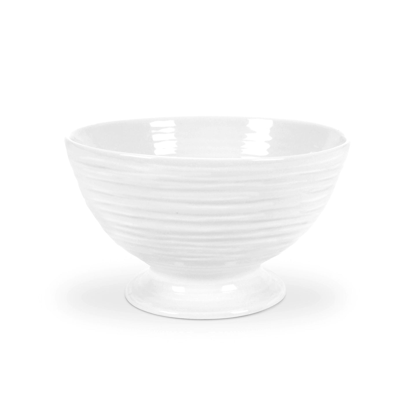 White Collection Small Footed Bowl