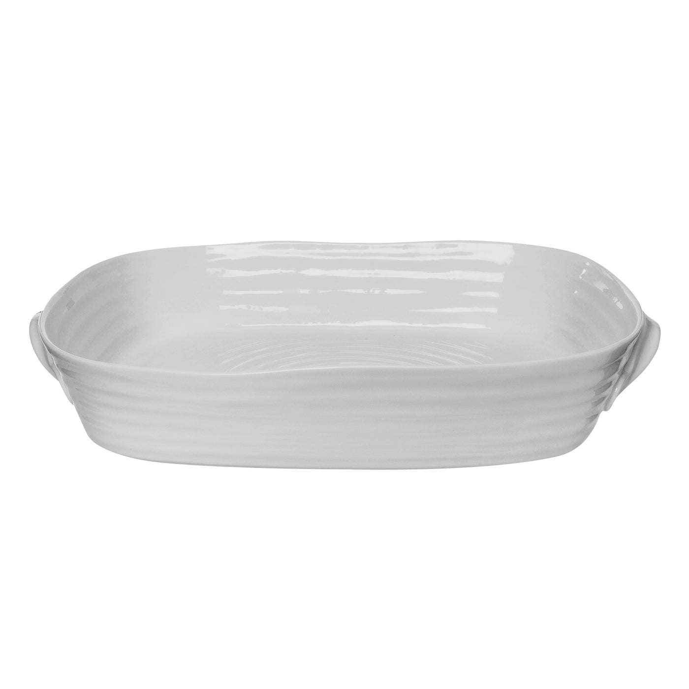 Grey Collection Handle Roasting Dish