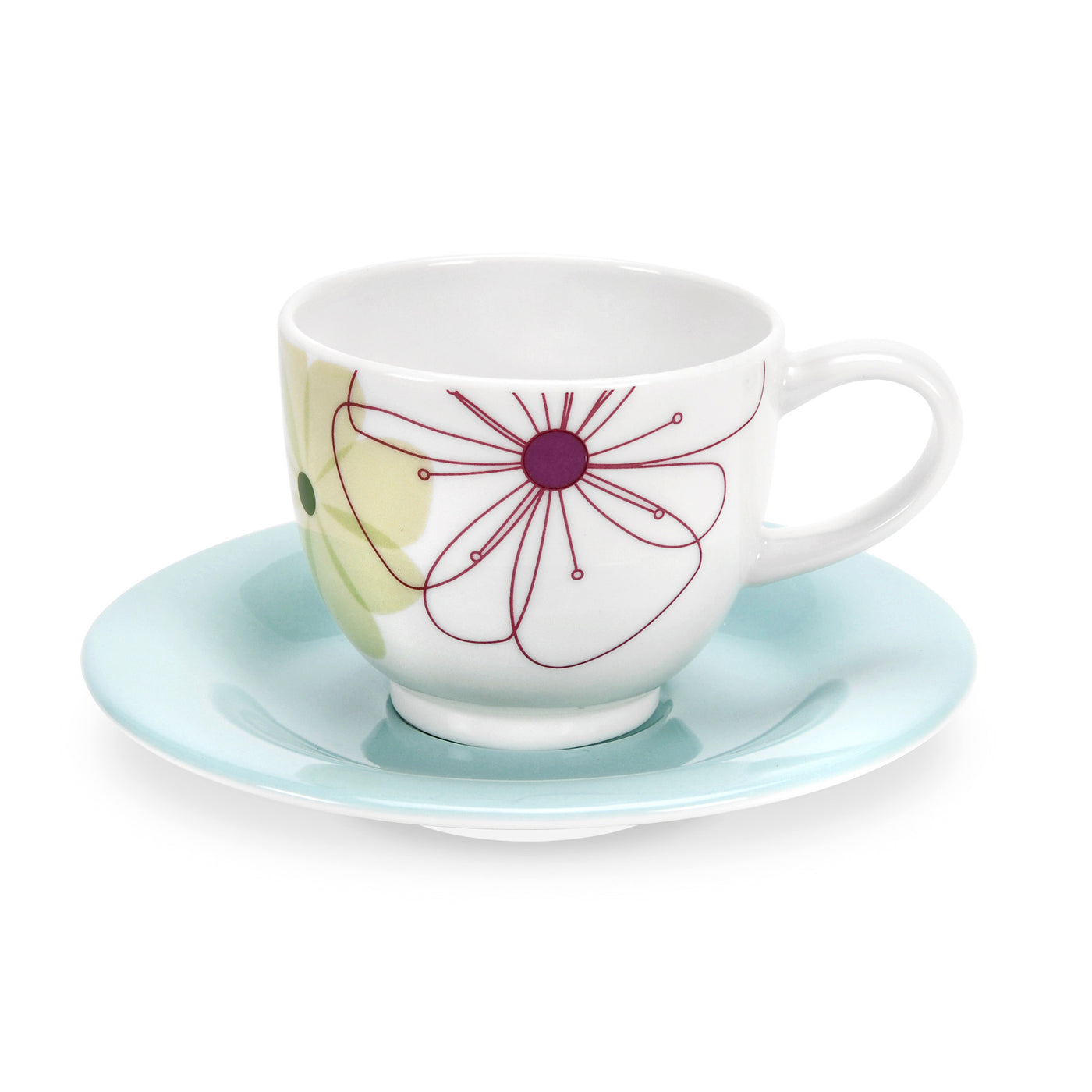 Espresso Cup & Saucer (Set of 2)