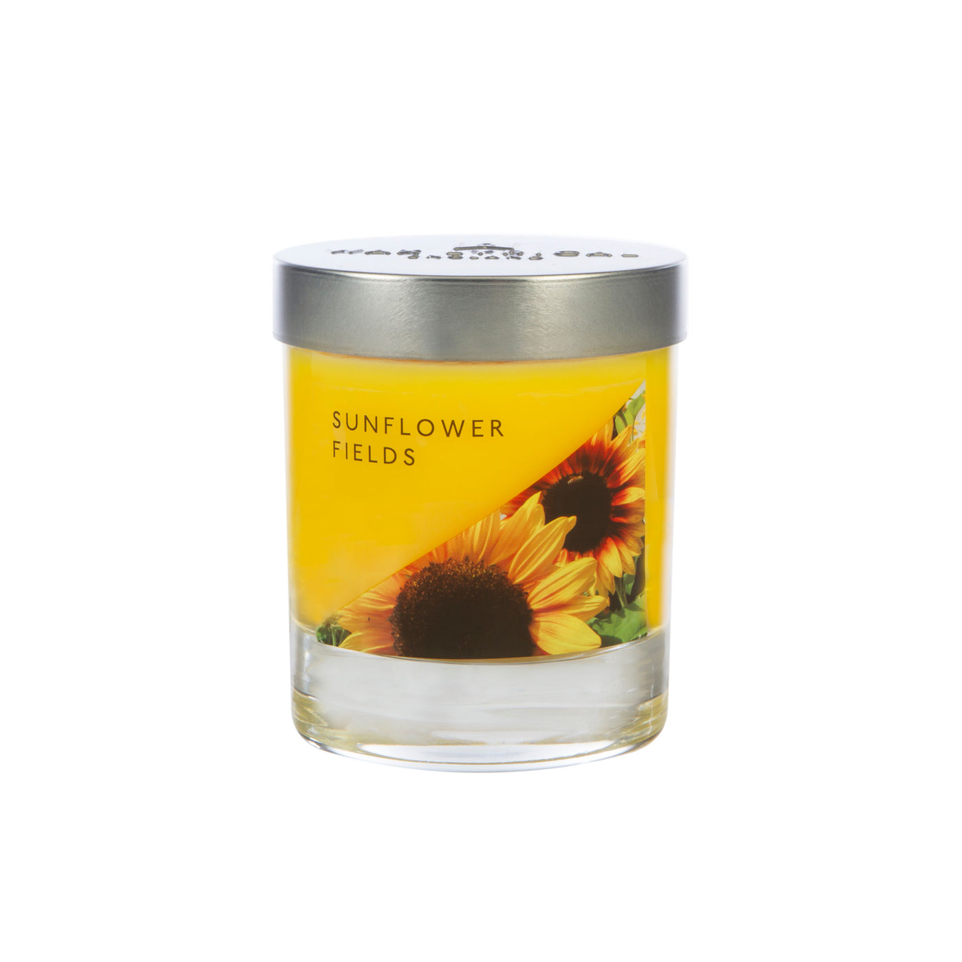Made in England Small Wax Filled Jar, Sunflower