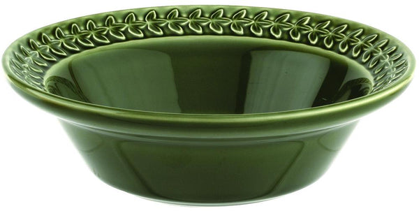 "Botanic Garden Harmony Cereal Bowl 8"" Forest Green Set of 4"