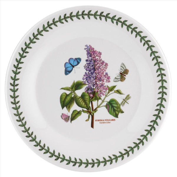 "Botanic Garden Dinner Plate 10"", Set of 6 (Mandarin-shape)"