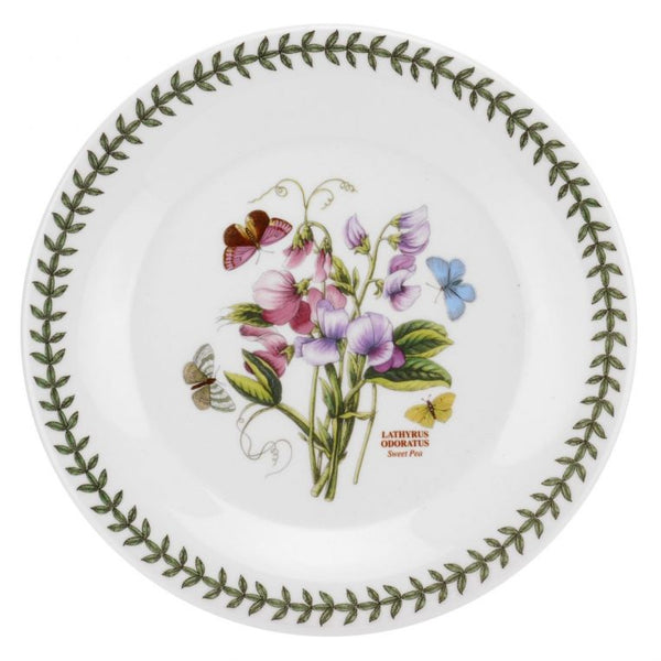 "Botanic Garden Salad Plate 8"", Set of 6 (Mandarin-shape)"