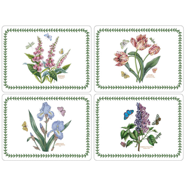 Botanic Garden Mats, Set of 4