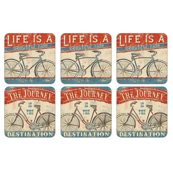 Beautiful Ride, Set of 6 Coasters