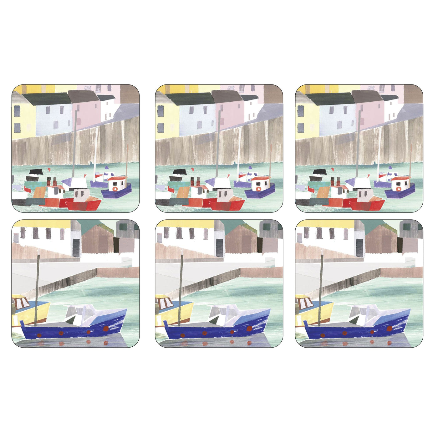 Harbour Coasters, Set of 6
