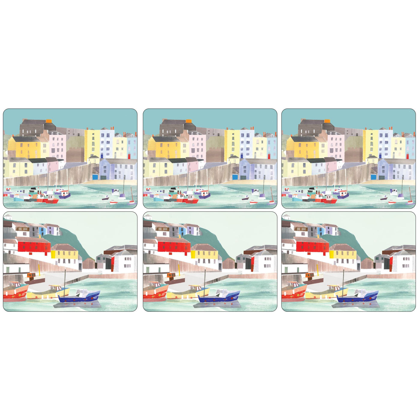 Harbour Luncheon Mats, Set of 6