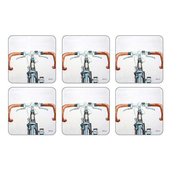 Bicycle Coasters, Set of 6
