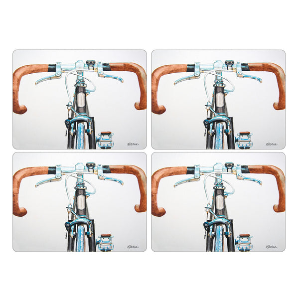 Bicycle Mats, Set of 4