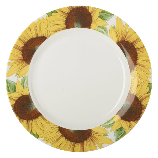 "Botanic Blooms Plate 11"" Sunflower"